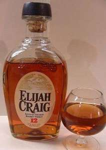 Elija Craig 12 year old Kentucky Bourbon reduced to clear £26.25 at M&S.