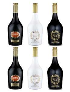 Cream Liqueurs Selection – Case of 6 was £72 now £36 / Melt in The Middle Chocolate Liqueur - Case of 6 now £32 / Christmas Cocktails - Case of 6 now £36 @ M&S (+ £3.50 Del / Free Del wys £50) - more in OP