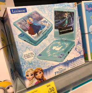 "7"" frozen portable DVD player £30 Asda instore - Glasgow Hoban"