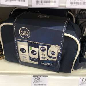 Nivea men sensitive set £3 boots instore