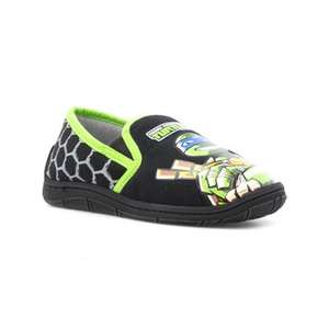 Further 20% off sale price + free delivery, eg teenage mutant ninja turtle slippers £3.19 @ shoezone