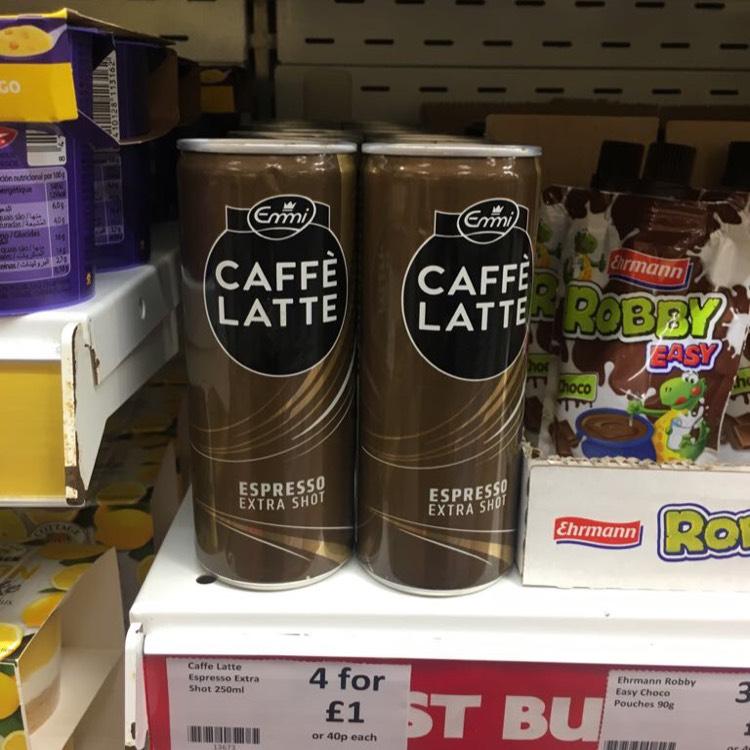Caffé Latte Espresso 40p each in store @ Heron.