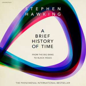 A brief history of time - Audiobook £1.99 or £1 with 50% off voucher - Google Audiobooks