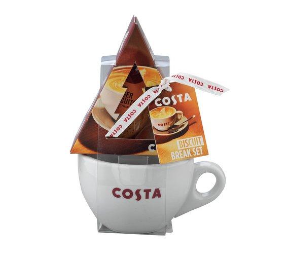 Costa Festive Mug and Biscuit Set £3.24 Argos