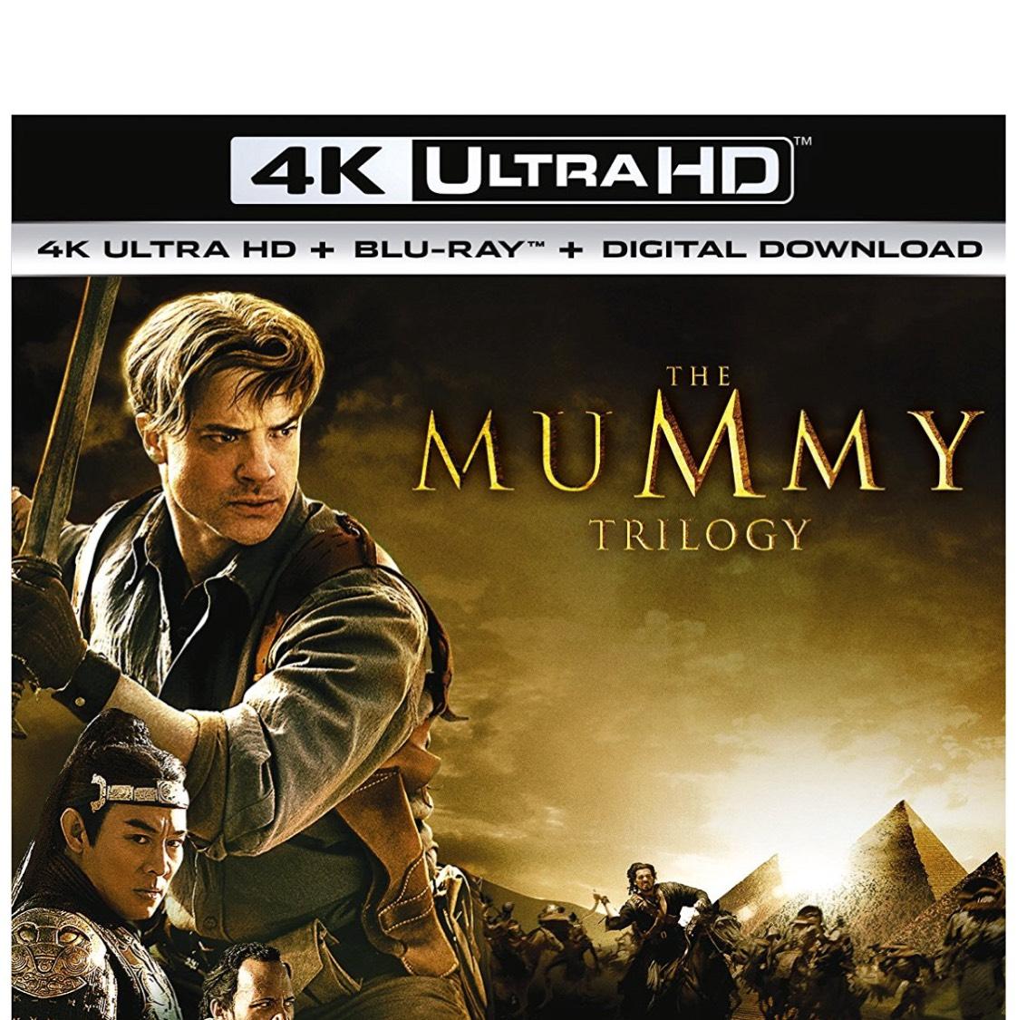 The mummy trilogy 4k Ultra HD £25 @ Amazon