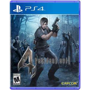 Resident Evil 4 (PS4) New & Delivered for £12.35 @ MyMemory