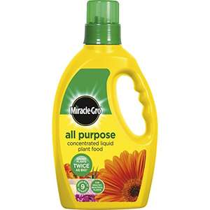 Amazon add-on item Miracle-Gro 1 Litre All Purpose Concentrated Liquid Plant Food Bottle £2.95