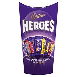 38x Terry's Chocolate Orange Milk, 157g or 19x Cadbury Heroes Chocolate Carton, 290 g plus other 11 items all for only £9 using  BIGTHANKS code at @ AMAZON FRESH ONLY READ DESCRIPTION