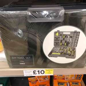Tesco 77 Piece DIY Tool Set instore £10 @ Tesco - Newcastle Kingston Park