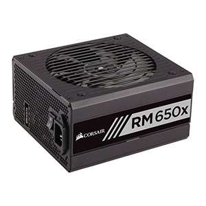 Corsair CP-9020091-UK RM650x 650 W 80 Plus Gold Certified Modular 135 mm Thermally Controlled Fan Power Supply Unit - Black £81.97 @ Amazon