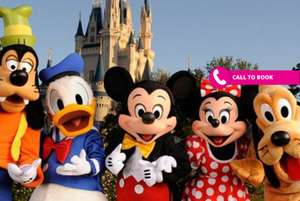 Two-night Disneyland® Paris two-park tickets, breakfast and flights £149 @ wowcher