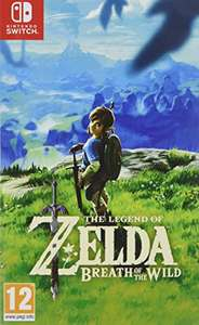 Zelda Breath of the Wild £40 @ Amazon using code BIGTHANKS (with £50 spend)
