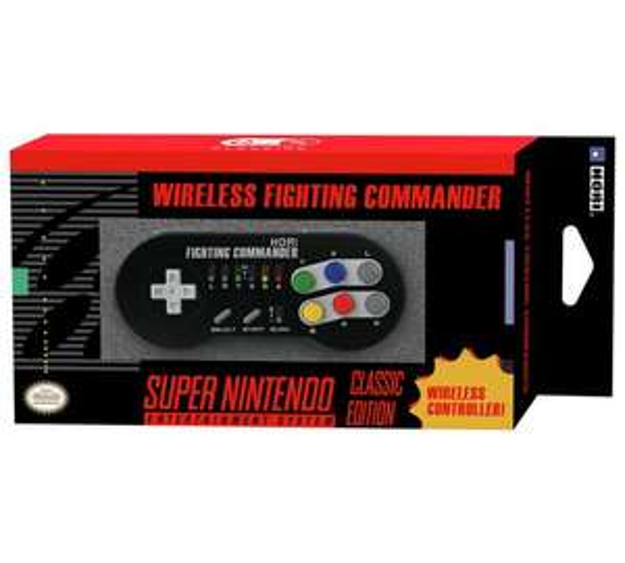 SNES Mini wireless controller (Hori SNES Classic Fighting Commander Controller) - Argos £16.99