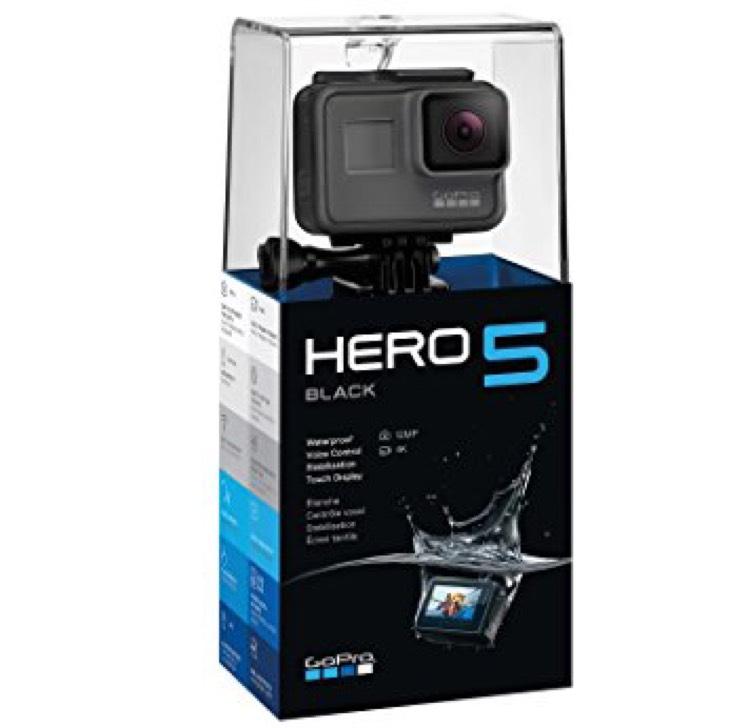 GoPro Hero 5 Black Amazon £275.56 see details
