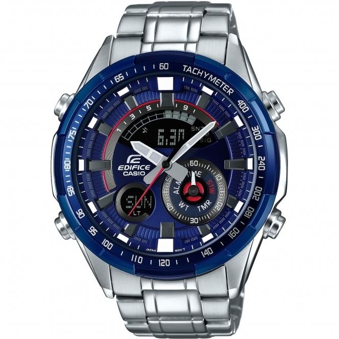 Nice watch - Casio Edifice ERA-600RR-2AVUEF Racing Blue Series Chronograph £119 @ Hs Johnson