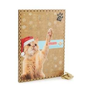Cat advent calendar - £1.50 - Free C&C and Shipping w/ code - at Debenhams