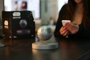 Levitating death star speaker!! Amazon - £119.99 (with code)