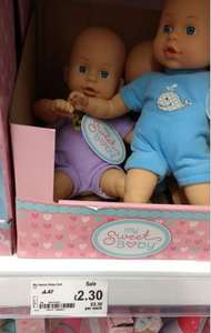 Asda - My Sweet Baby Doll plus others - £2.30 instore @ ASDA