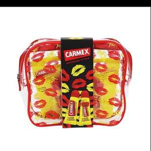Carmex twin pack with bag only 99p instore @ Superdrug