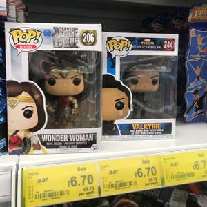 Marvel and DC Funko Pops- selective characters in stock £6.70 Asda instore