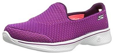 Skechers women's Go Walk 4 shoes (purple) £17.70 (Prime) £21.69 (non-Prime) at Amazon