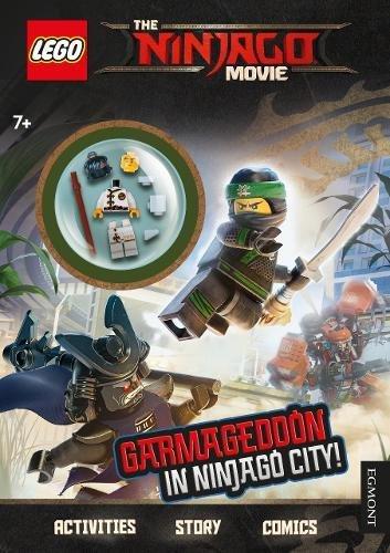 The LEGO NINJAGO MOVIE: Garmageddon in Ninjago City! (Activity Book with minifigure) £1.74 (Prime) / £3.73 (non Prime) at Amazon