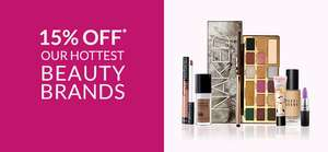 15% off Benefit + FREE £10 Beauty Club Credit over £50 + FREE Gift over £70 + Free Delivery at Debenham