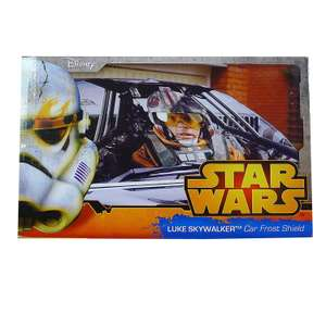 Star Wars Luke Skywalker Car Windscreen Frost Shield £1 @ Asda Walton Liverpool