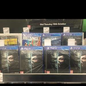 PS4 Games Asda Colindale NW9 instore