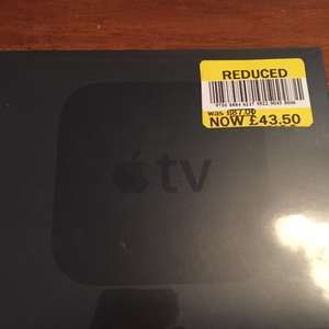 Apple TV 4th generation 32gb £43.50 instore TESCO