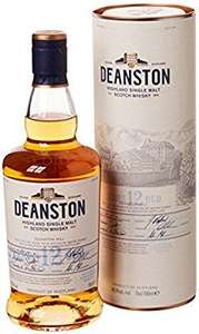 Deanston 12 Year Old Highland Single Malt Scotch Whisky, 70 cl  £28.99 and other whisky on deals of the day at Amazon