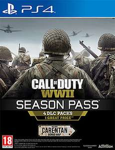 COD WWII Season Pass + £5 PSN Credit + Officer Guy Character Figurine £39.99 @ Game