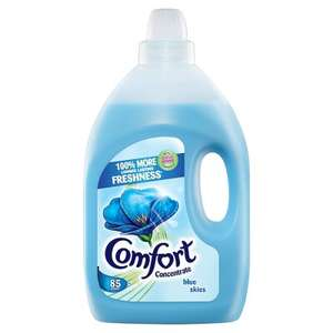 Comfort Blue or Pure Fabric Conditioner 85 Washes 3L for £3 (HALF PRICE) @ Waitrose