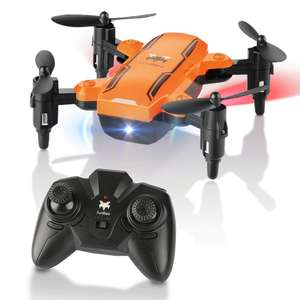 FuriBee H815 2.4GHz 4CH 6 Axis Gyro Remote Control Mini Quadcopter - Orange £7.61 Delivered with code @ Gamiss