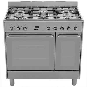 Smeg CG92X9 90cm Dual Fuel Range Cooker - Stainless Steel £884 @ bootskitchenappliances