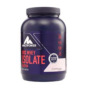 Multipower whey isolate. Strawberry splash flavour £4.62 at holland & barrett - Standard c&c 95p