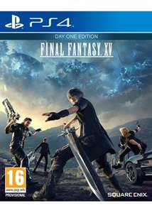 Final Fantasy XV - Day One Edition PS4 £11.99 @ base.com