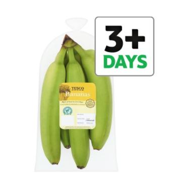 Tesco Bananas 5 Pack 90p @ tesco