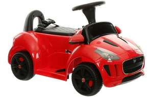 Jaguar F-Type Electric Ride on Car was £120 then £60 now £45 Del / C+C @ Halfords