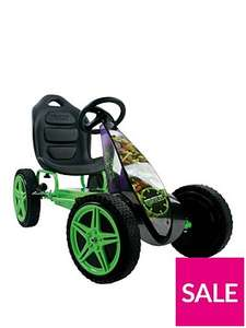 "Teenage Mutant Ninja Turtles Hurricane Go Cart was £199.99 now £89.99 / Batman Go Kart now £59.99 / Disney Cars Go Kart now £44.99 / Toy Story 12"" Bike now £34.99 / Shopkins 14"" Bike now £54.99 C+C @ Very"