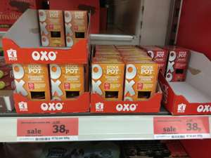 OXO beef / chicken stock pot (pack of 4 - 80g) was £1.50 now 38p @ Sainsbury's