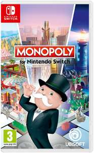 Monopoly Nintendo Switch @ Amazon for £20 (Prime Exclusive/temp OOS but available for ordering) (eg. Skyrim + Monopoly £52 delivered)