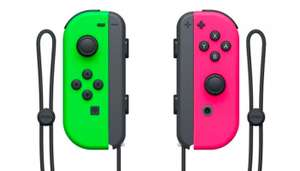 Nintendo Switch Neon Joy Cons down to £54.99 with code at Amazon