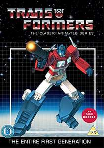 Transformers DVD - Classic Animated Collection (13 discs) £14.99  (Prime) / £16.98 (non Prime) at Amazon