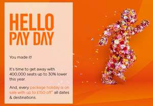 Discounted flight tickets.. 400,000 seats up to 30% lower  @ Easy jet