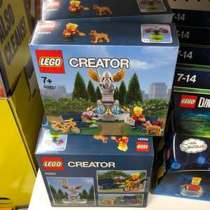 "Lego Creator 40221 (discontinued) ""Park Fountain"" £5 in Poundland - Aylesbury (but seen elsewhere)"