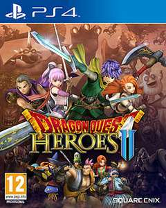 Dragon Quest Heroes II (PS4) £9.99 now back in stock online @ Game