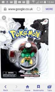 Pokemon series 24 keychain £1 in Poundworld - Corby