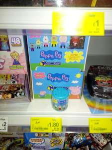 Peppa Pig Mashems / Disney Princess Fashems £1.80 Instore @ ASDA
