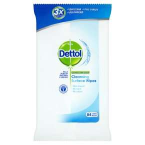 Dettol x 84 Anti-bacterial Surface cleanser wipes - 2 packs for £2.56 with Waitrose PYO
